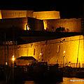 Le fort Saint-Nicolas dans la nuit (Marseille, mai 2019)