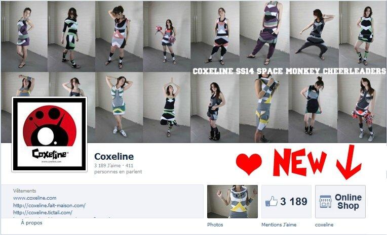 Eshop Online FB Coxeline