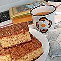 Gâteau aux carottes et au yaourt pour compilemoi un menu de janvier