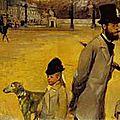 Degas, place de la concorde