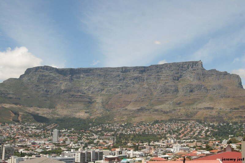 Table Mountain from Bo'Kaap