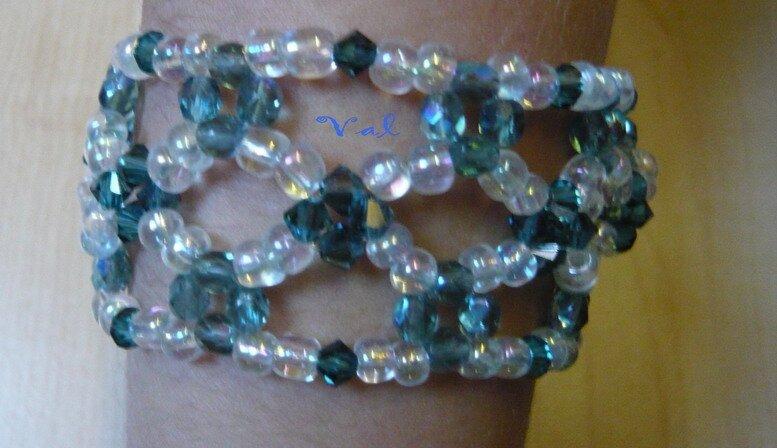 Bracelet dentelle de perles