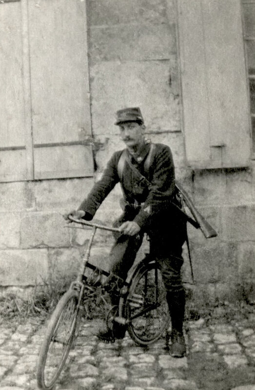 Raoul Dutacq, 1er groupe cycliste, 1915