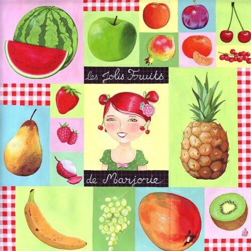 les jolis fruits de Marjorie