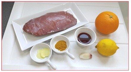 magret de canard sauce framboises1