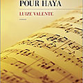 Sonate pour haya : une saga familiale mélant petite et grande histoire