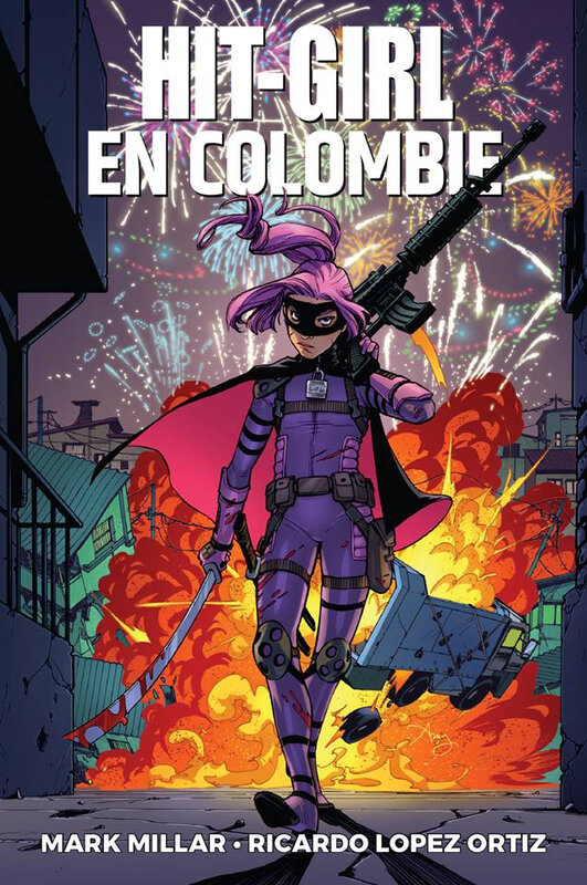 panini hit-girl 01 en colombie