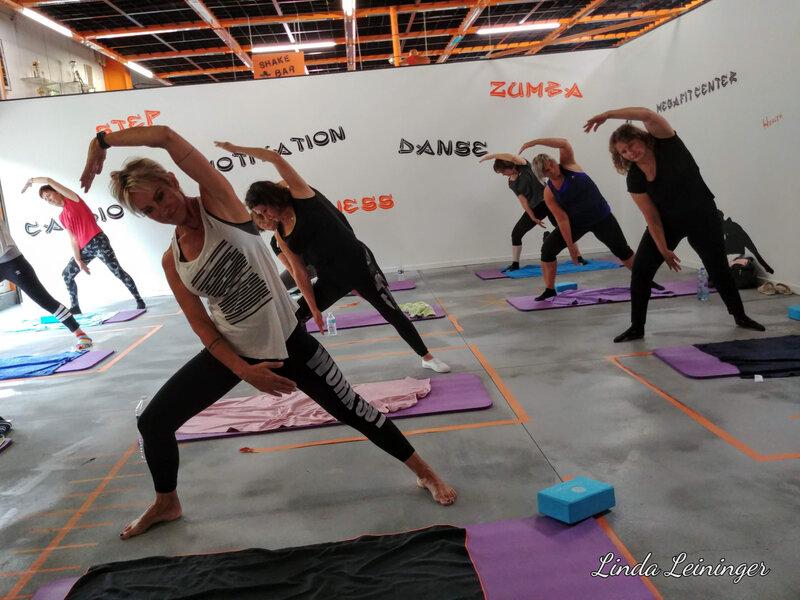 Souplesse par le yoga