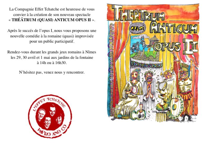 Cie Effet Tchatche invitation