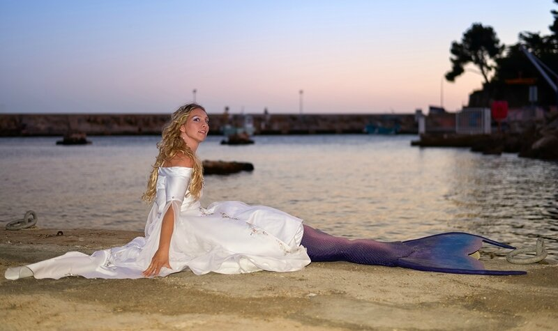 Freya Mermaid - mariée - photo d'Olivier Pirman