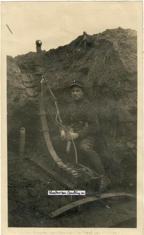 Lance grenades artisanal tranchée de CAPPY près BRAY sur SOMME