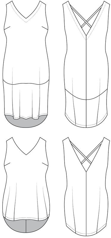 Cashmerette - Webster top & dress