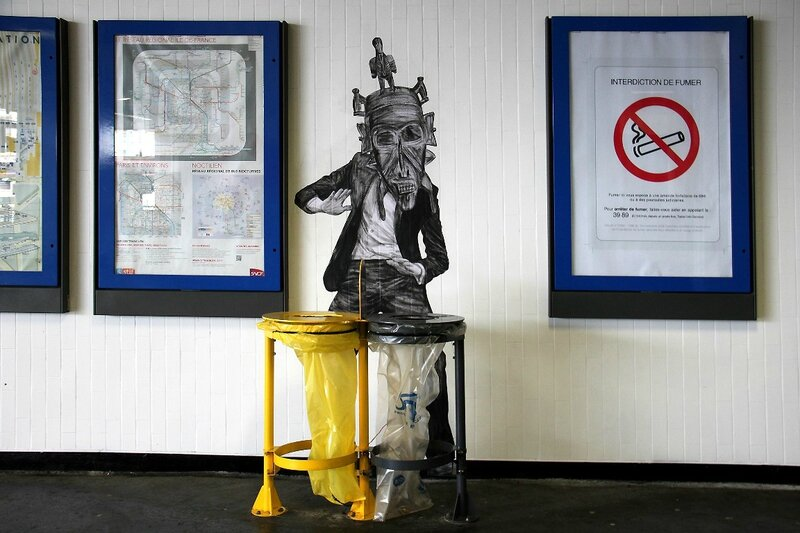 Collage Levalet (Gare du Nord)_8210