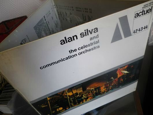 Alan Silva Celestrial Communication Orchestra pochette LP