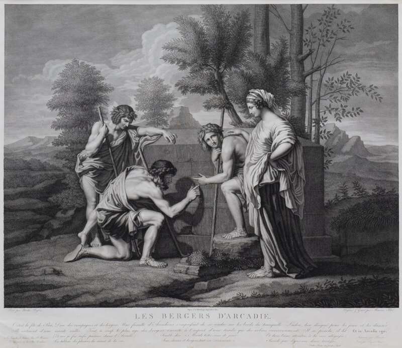 Maurice Blot after Nicolas Poussin