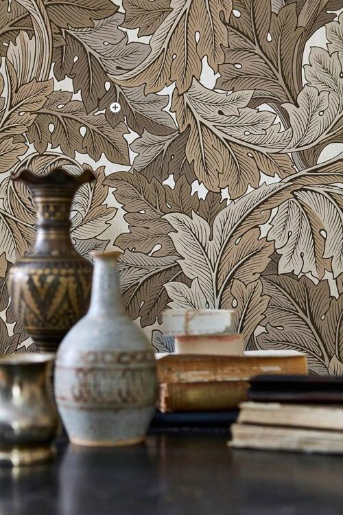 Morris-Co-The-Collector-Acanthus-Wallpaper-1