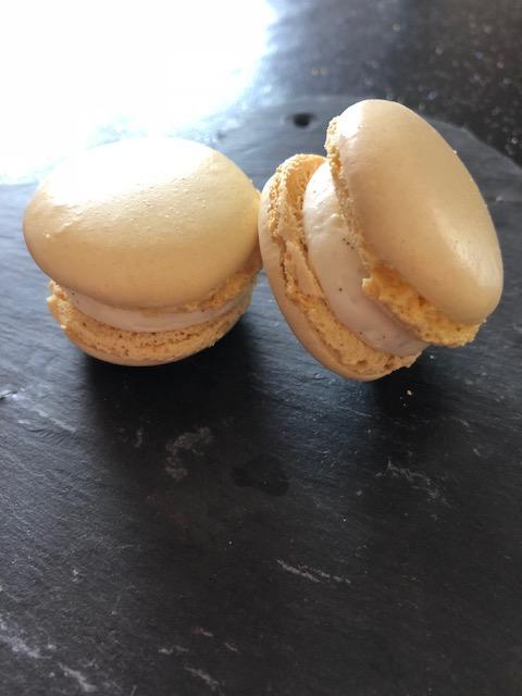 macaron vanille exotique