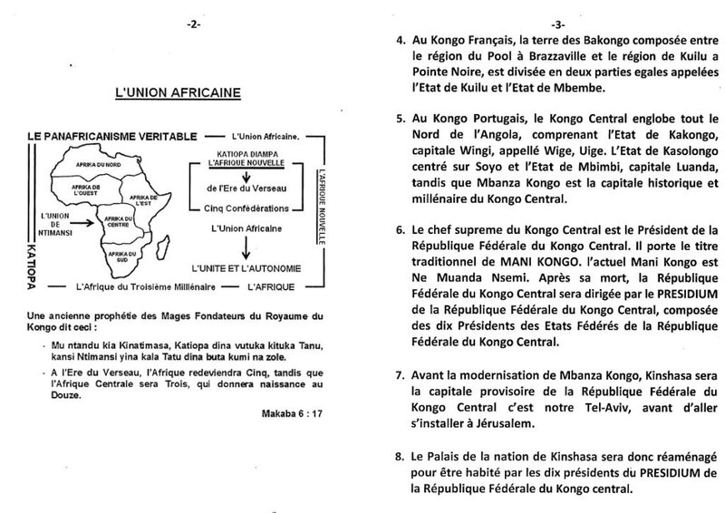 VOICI LA REPUBLIQUE FEDERALE DU KONGO CENTRAL b