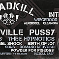 Roadkill festival à waarschoot, ce weekend!