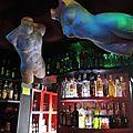 Sopot, bar Kinski, intérieur, étage, bar