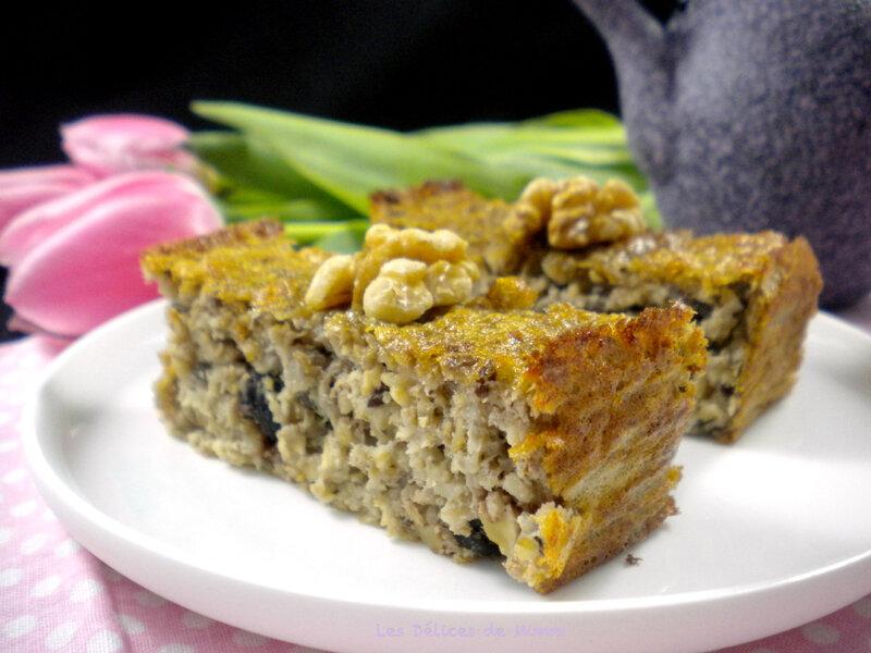 Un cake « healthy » pour le petit-déjeuner