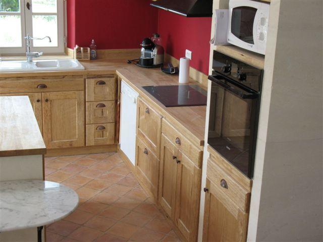 am nagement d 39 une cuisine contemporaine provence bois. Black Bedroom Furniture Sets. Home Design Ideas