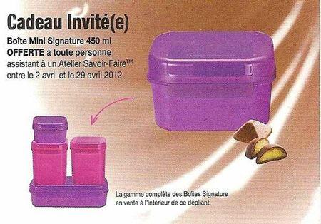 mars 2012 invites