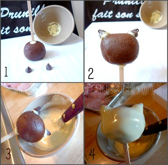 how to make cake pops step by step