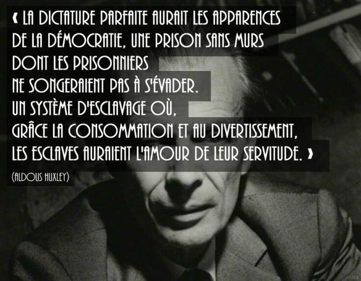 La vraie stratégie du NOM, tout autant que ses buts réels, doit laisser le peuple dans l'ignorance et en béatitude...