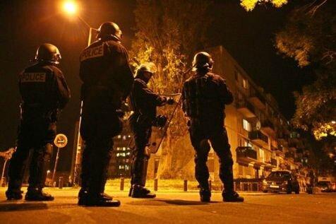 Police émeutes nuit