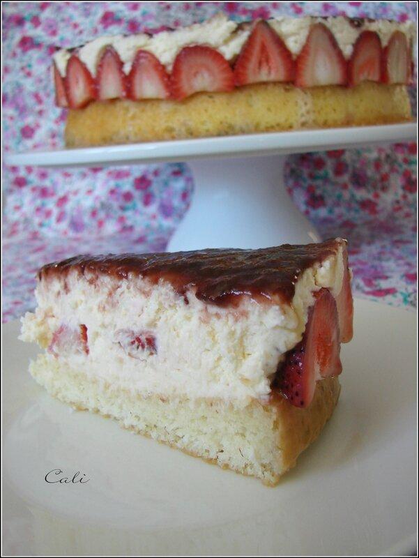 Cheesecake Coco tel un Fraisier 002