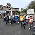 Lerarenkaart fietstocht 2013 - Marcasse - PB035371