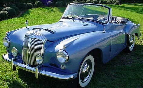 DAIMLER - Conquest Century roadster - 1957
