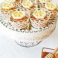 Muffins moelleux au miel