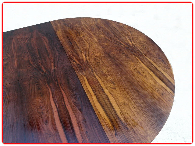 Brazilian dining table J. Zalszupin jacaranda