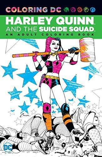 coloring DC harley quinn and the suicide squad