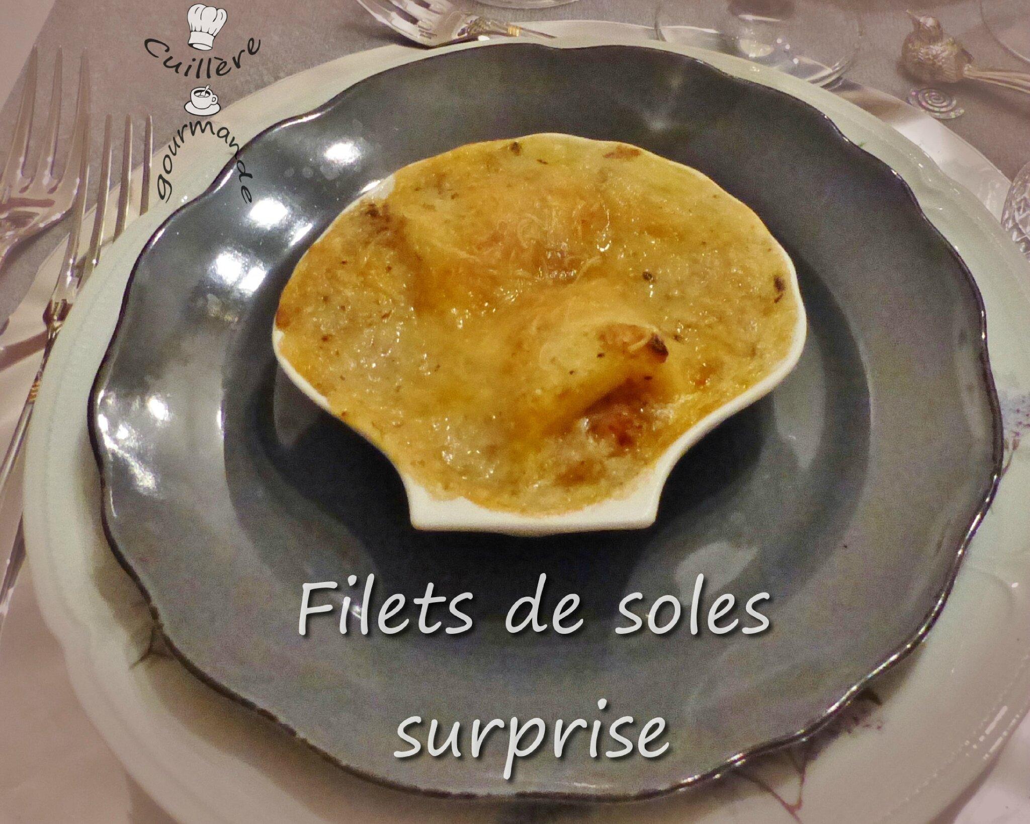 filets de soles surprise