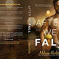 ** cover reveal ** after we fall by melanie harlow