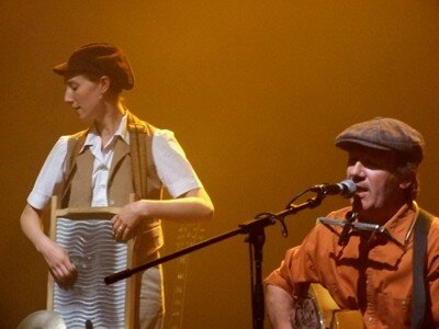 Mary-Lou - Mary and Jean-Luc on stage