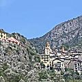 Saorge village medieval de la roya