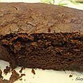 Gâteau au chocolat sans beurre ...aux courgettes