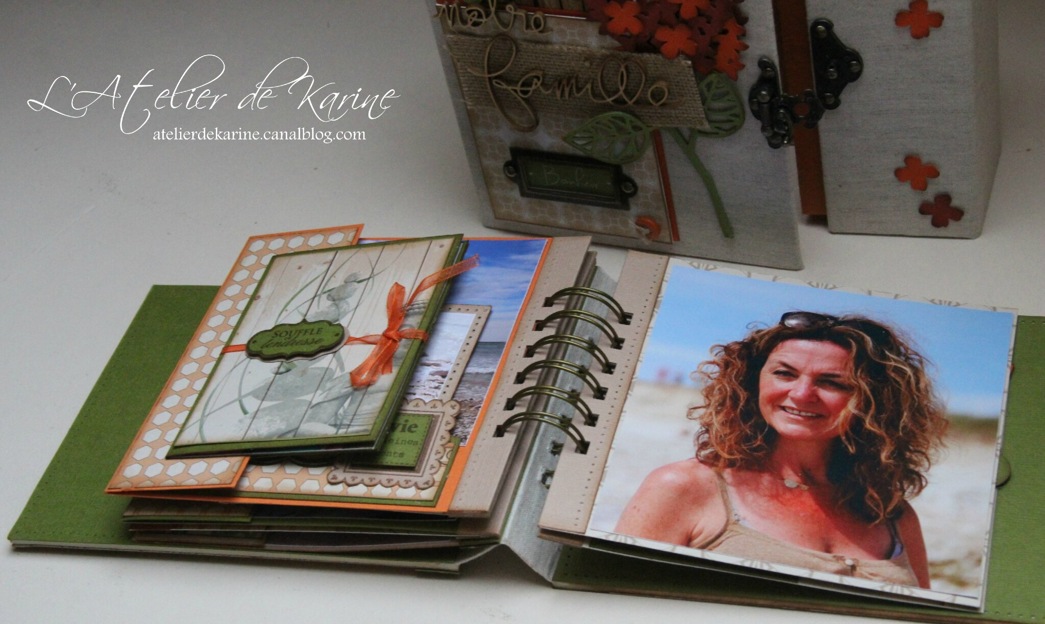 Mini Album et son coffret - Pure Lorelaïl Design 34