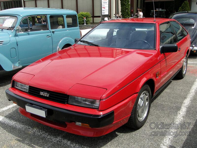 Isuzu Piazza Turbo 1985-1987-01