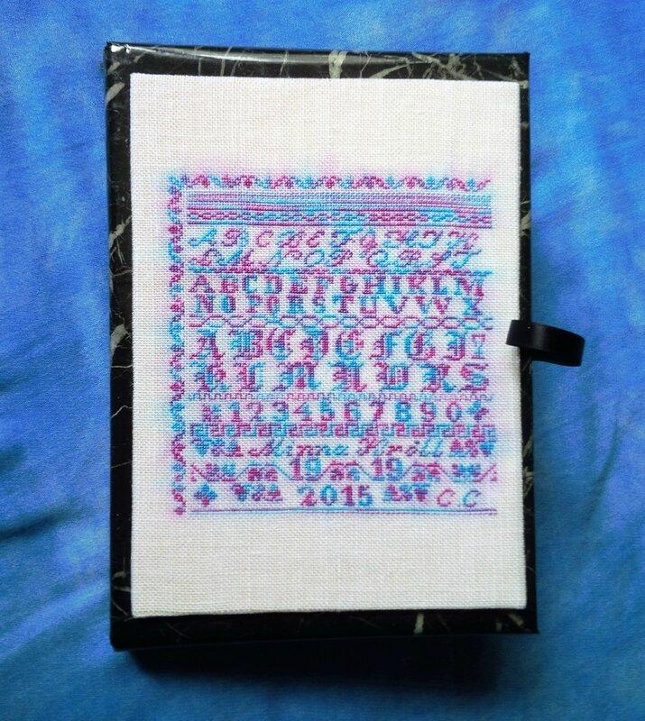 Dessus boîte Marquoir de Minna Kroll - douceur 11