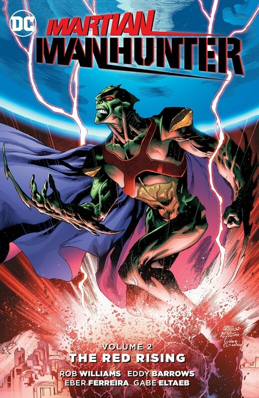 new 52 martian manhunter vol 2 the red rising TP