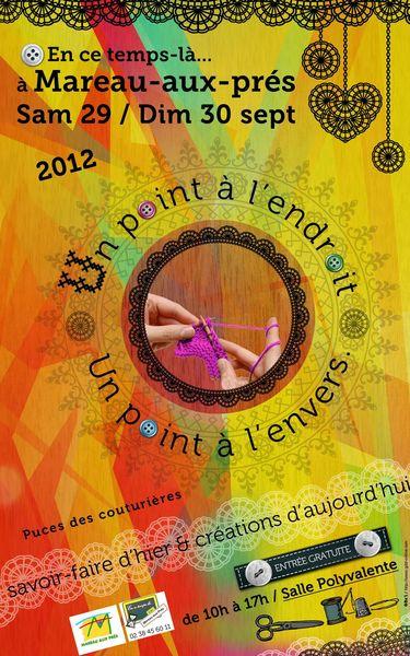 AFFICHE un point à l'endroit 2012