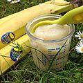 Compote banane-pomme à la ricotta - à partir de 7 mois