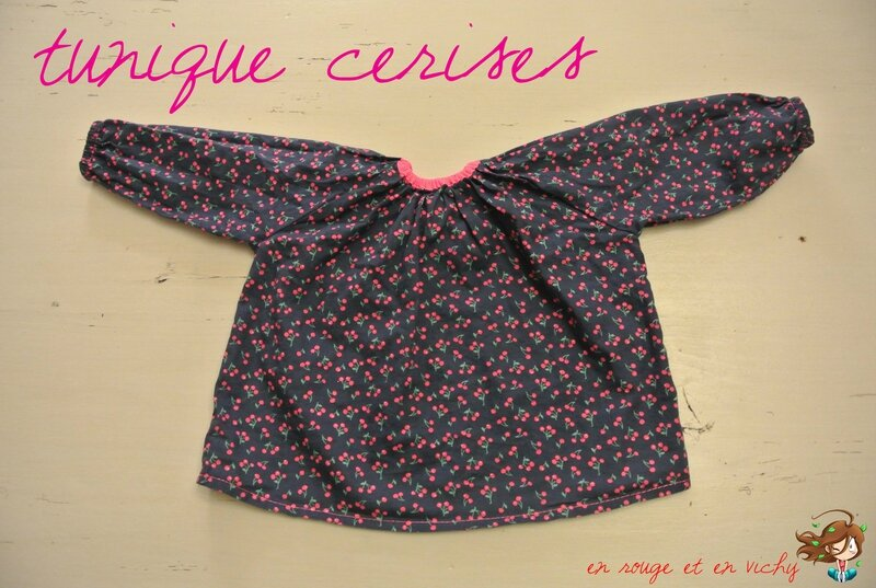 tunique cerise ipbb