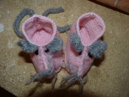 Chaussons Souris 007