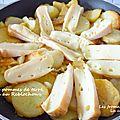 Poêlée de pommes de terre sautées au reblochon fermier